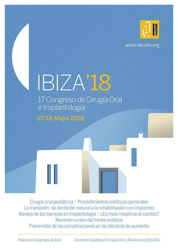 17 Congreso de Cirugia Oral e Implantología SECOM 2018